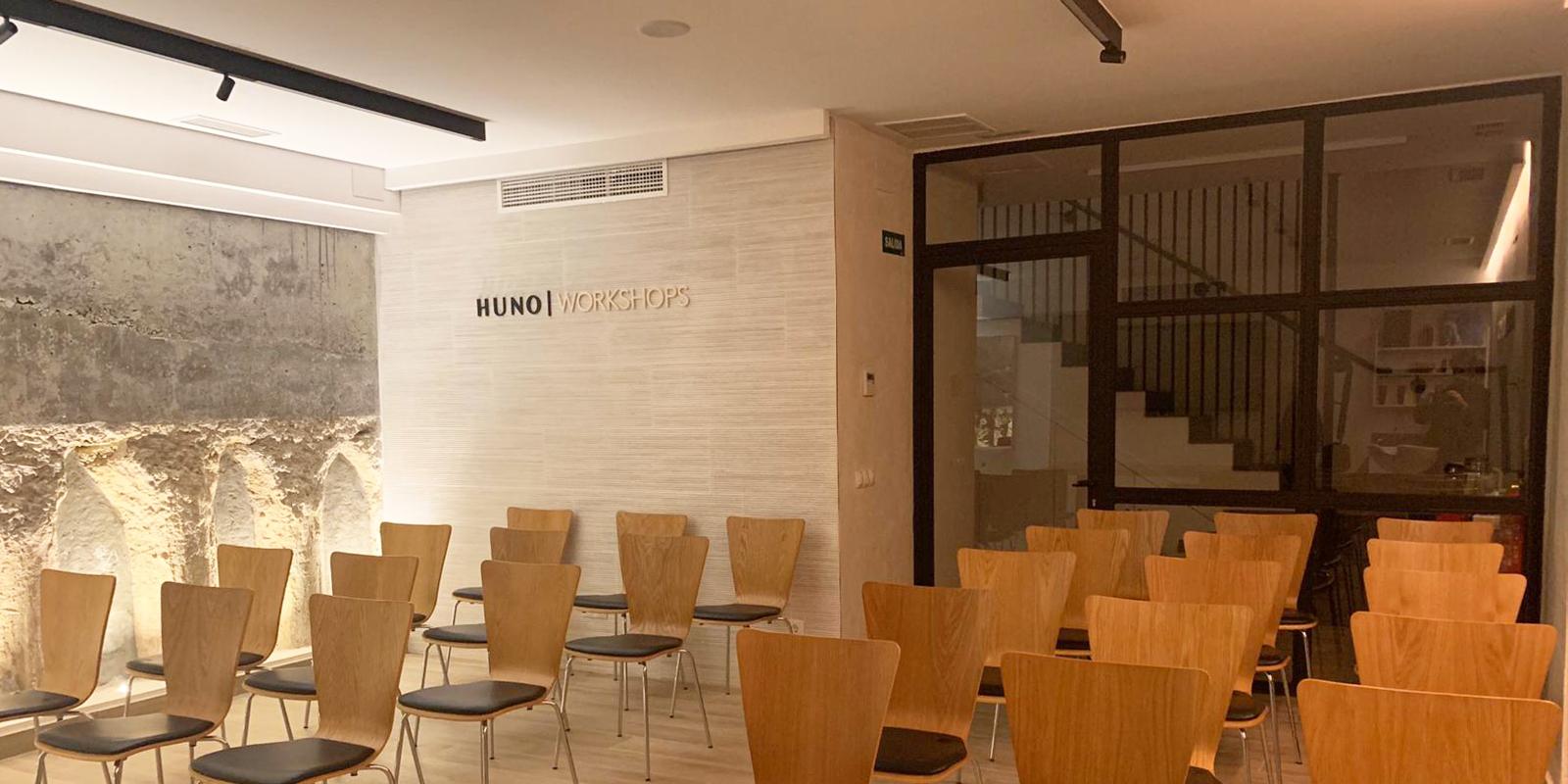 espacio para formación profesional de peluquería y belleza philips martins ccont en Madrid huno workshop